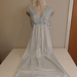 Vintage baby blue negligee nightgown
